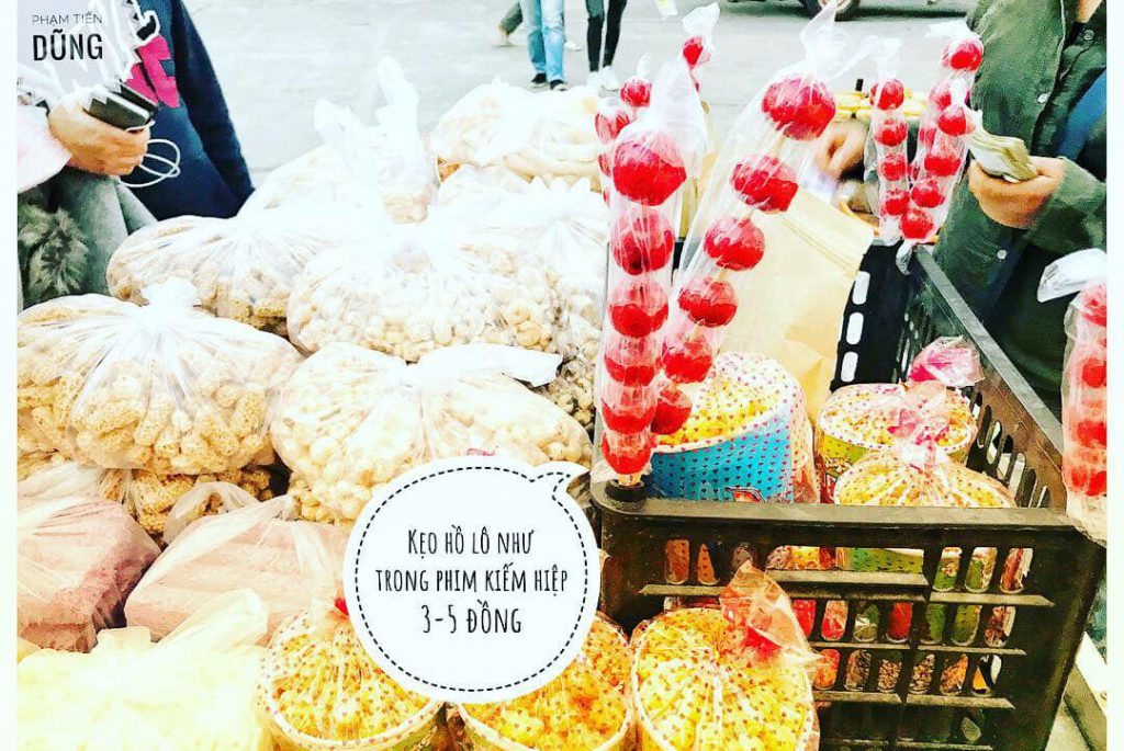 Nhiều món ăn vặt tại Bình Biên