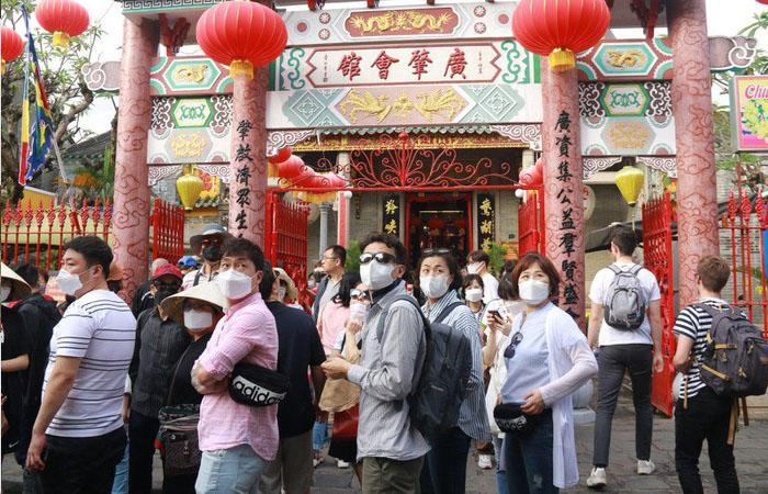 Giảm sút lượng khách Trung - Hàn là một thiệt hại lớn đối với ngành du lịch Đà Nẵng. Ảnh: VNExpress