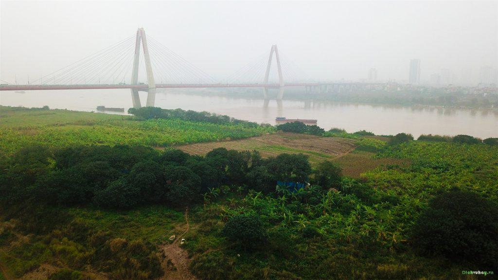 Bãi đá Sông Hồng ngày nay có nhiều điểm checkin