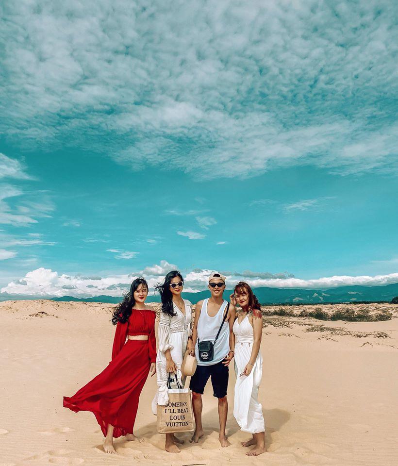 Checkin Đồi cát Quang Phú