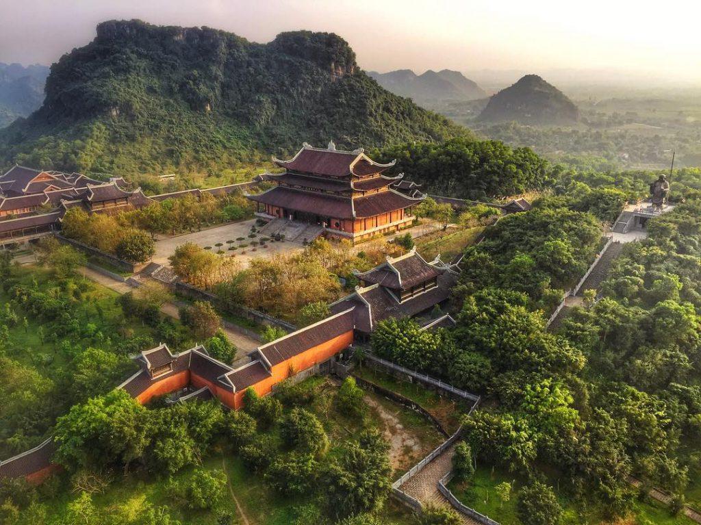 Chùa Bái Đính lớn nhất Việt Nam
