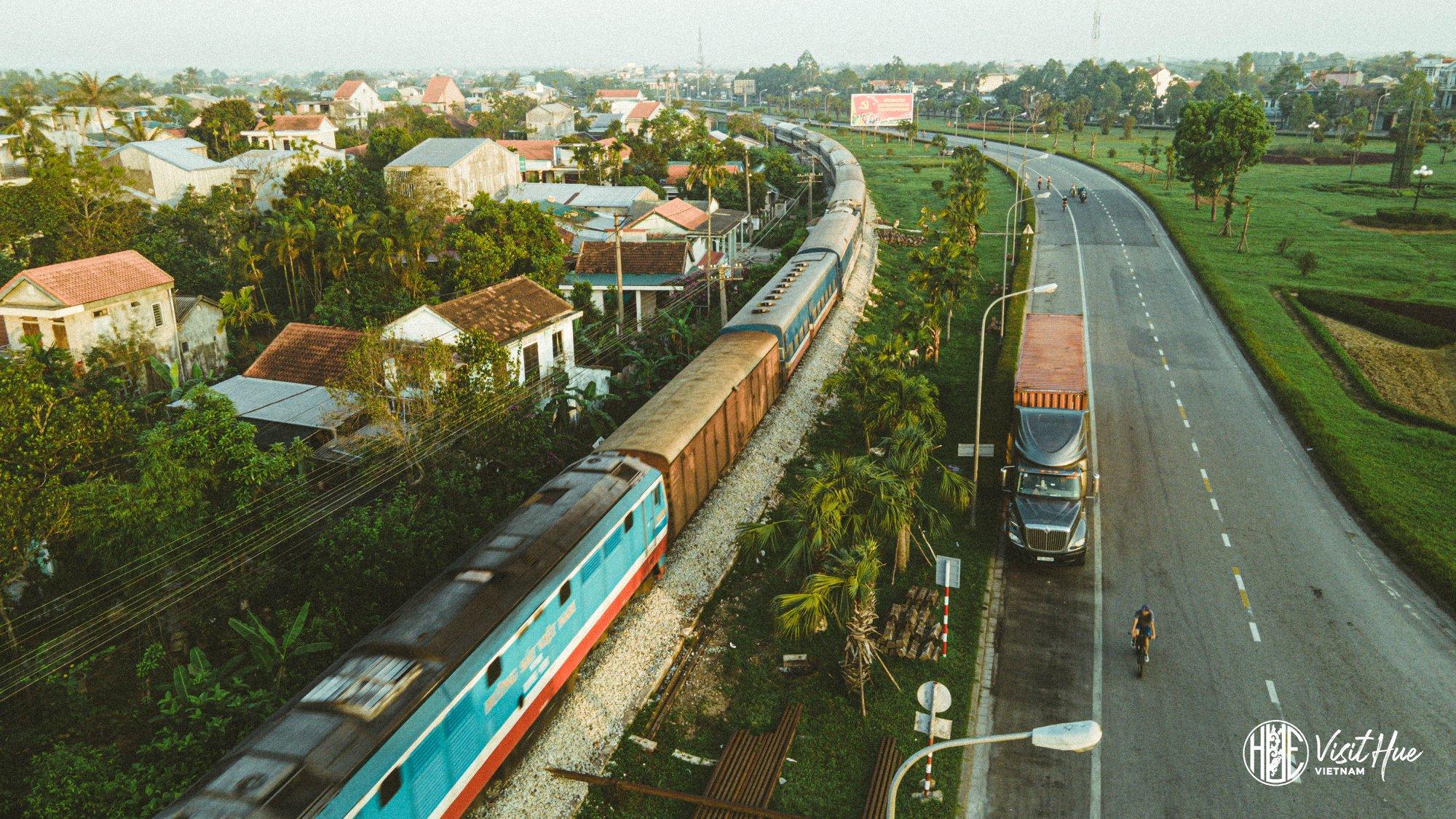 Đến Huế bằng Đường sắt