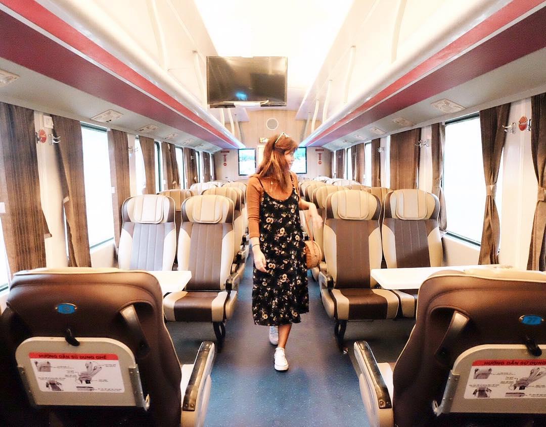 Tàu hỏa Du lịch ngày càng hiện đại phục vụ du khách