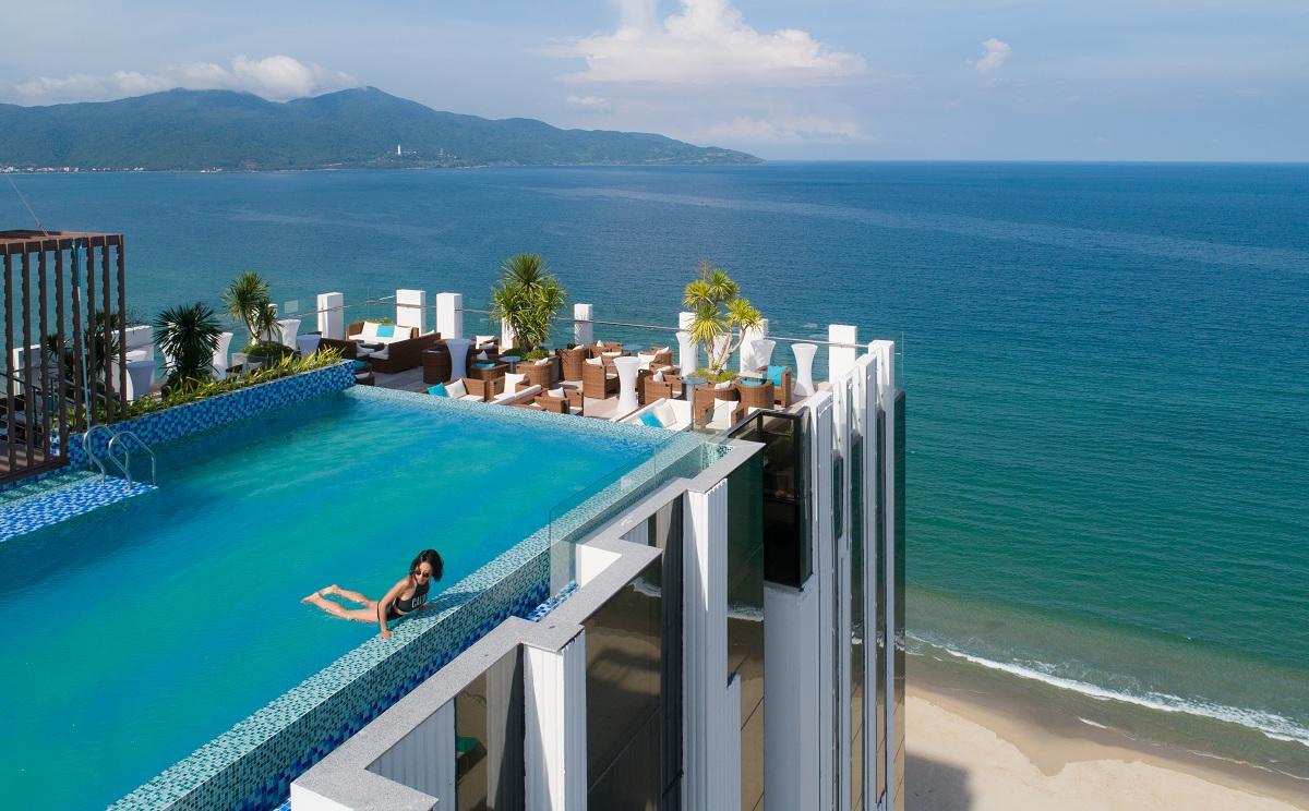 Các khách sạn Đà Nặng 3-4 sao thường có bể bơi