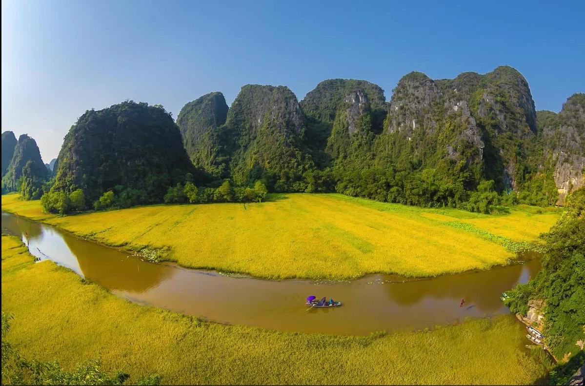 Chọn thời tiết đẹp để chekin Ninh Bình