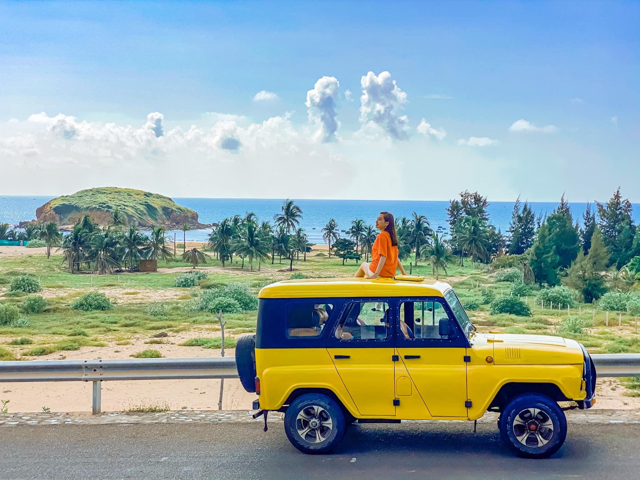 Du lịch Mũi Né bằng xe Jeep