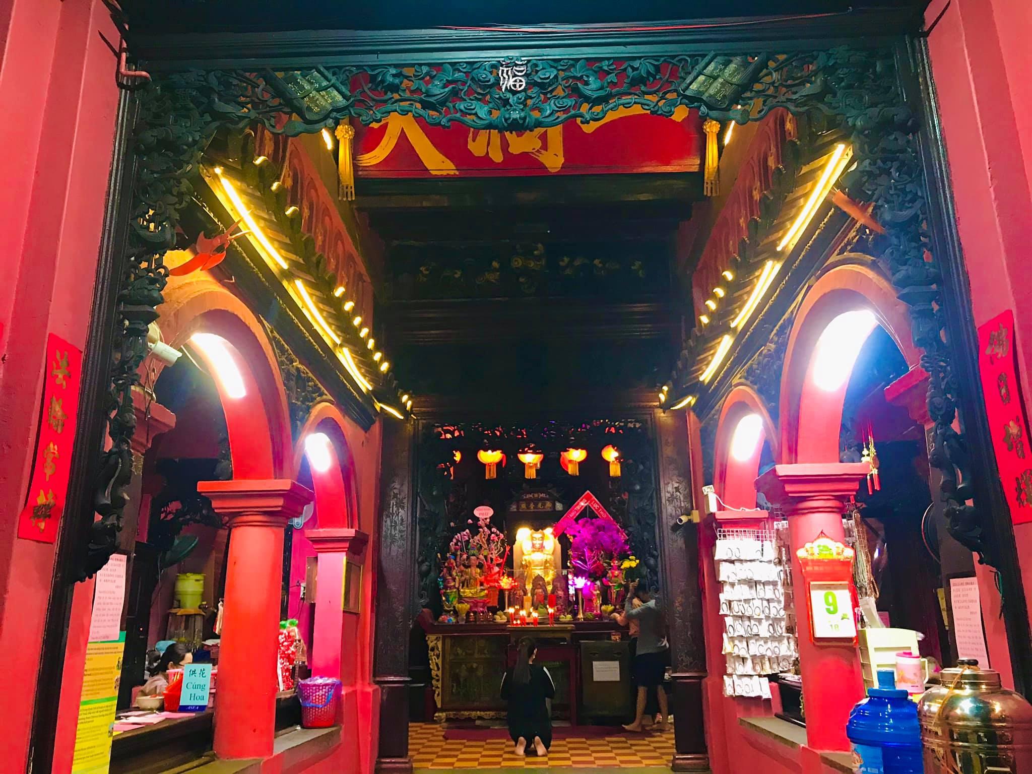 Kiến trúc độc đáo của chùa Ngọc Hoàng