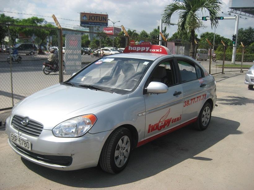 Happy Taxi Bến Tre