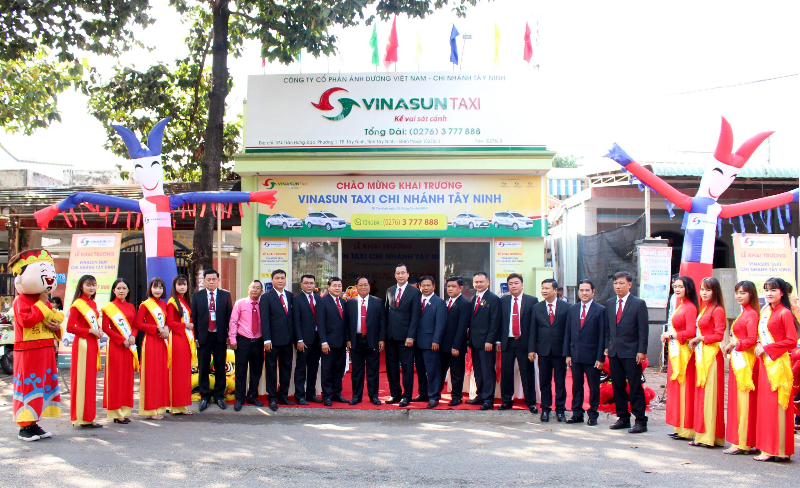 VinaSun Taxi chi nhánh Tây Ninh được khai trương thời gian gần đây